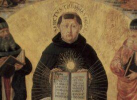 Benozzo Gozzoli: Triumph des Hl. Thomas von Aquin über Averroës – Altartafel (1468–1484) – Louvre, Paris