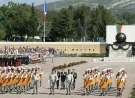 Parade zum Tag von Camerone in Aubagne