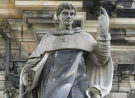 Lorenzo Matielli: Thomas von Aquin – Foto von »Paulae« – Katholische Hofkirche, Dresden