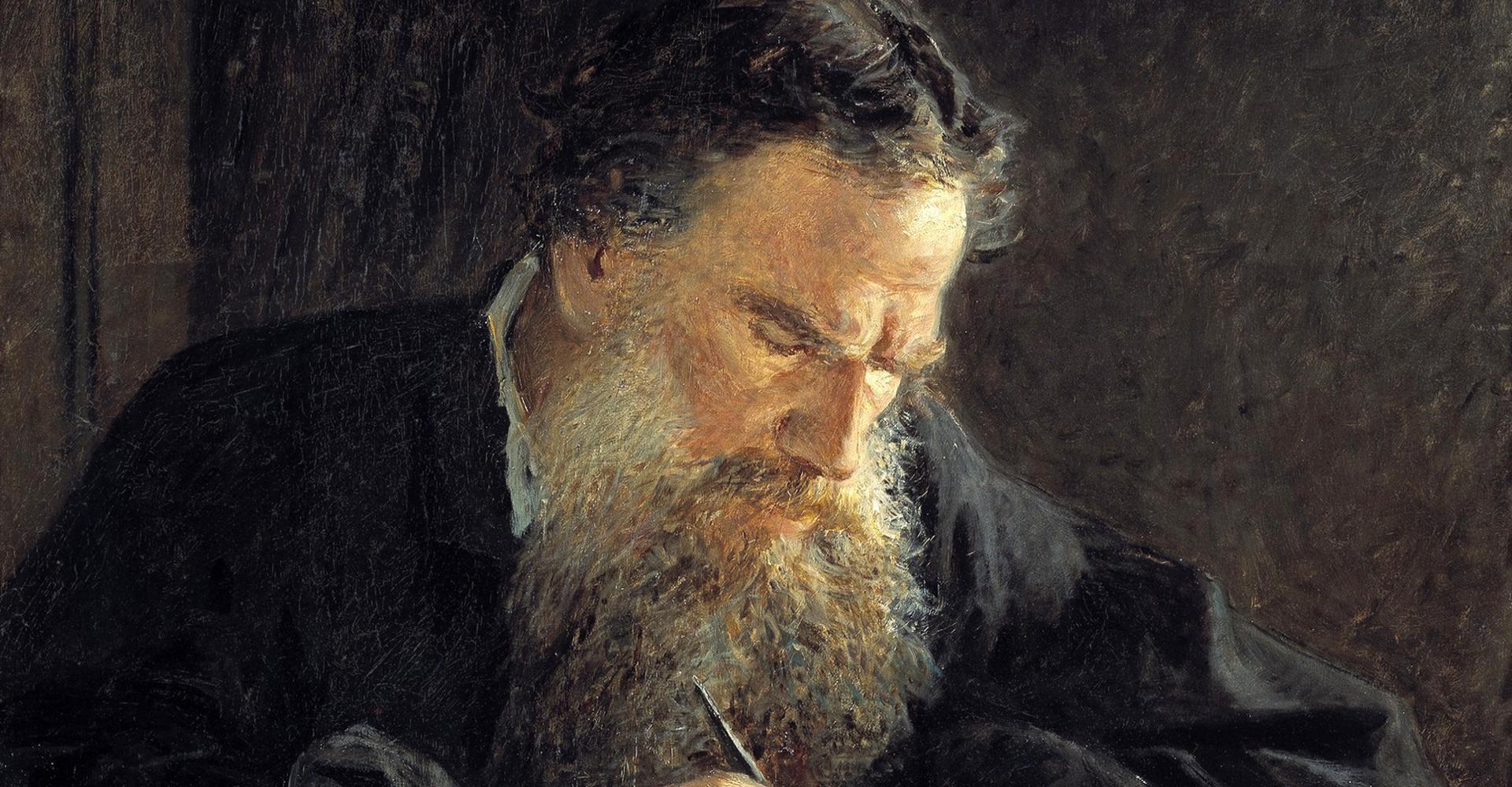 Nikolai Ge: Lew Tolstoi – Tretjakow-Galerie, Moakau