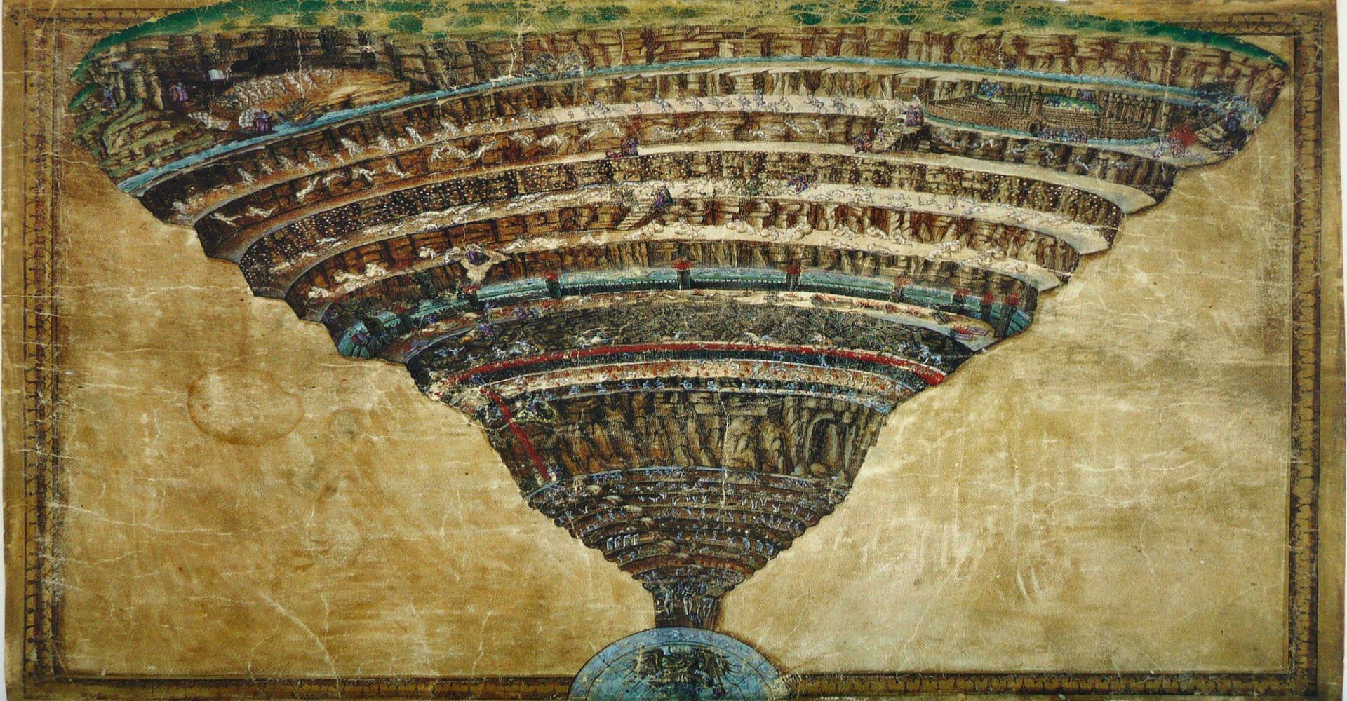 Sandro Botticelli: Plan der Hölle