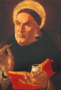Sandro Botticelli (zugeschrieben): Thomas von Aquin