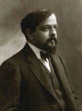 Claude Debussy um 1908 von Nadar