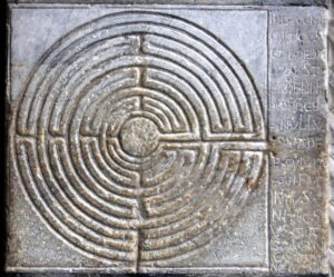 Fingerlabyrinth in Lucca