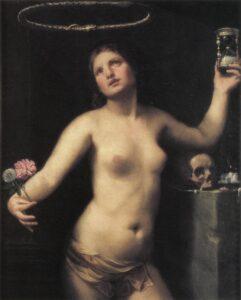 Guido Cagnacci: Allegoria della vita umana – Allegorie auf das menschliche Leben (um 1650) – Sammlung der Fondazione Cavallini-Sgarbi in Ferrara