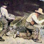»Sozialkunst« des Realismus – Gustave Courbet: Die Steinklopfer (1849)
