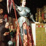 »Systemkunst« des Empire – J.-A.-D. Ingres: Jeanne d'Arc bei der Krönung Karl VII. (1854)