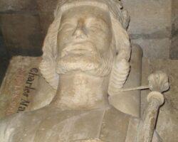 Grablege Karl Martells in St. Denis