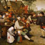 Pieter Bruegel d. Ä.: Der Bauerntanz
