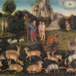 Lucas Cranach d. Ä.: Paradies – Kunsthistorisches Museum, Wien