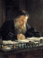 Nikolai Ge: Lew Tolstoi – Tretjakow-Galerie, Moskau