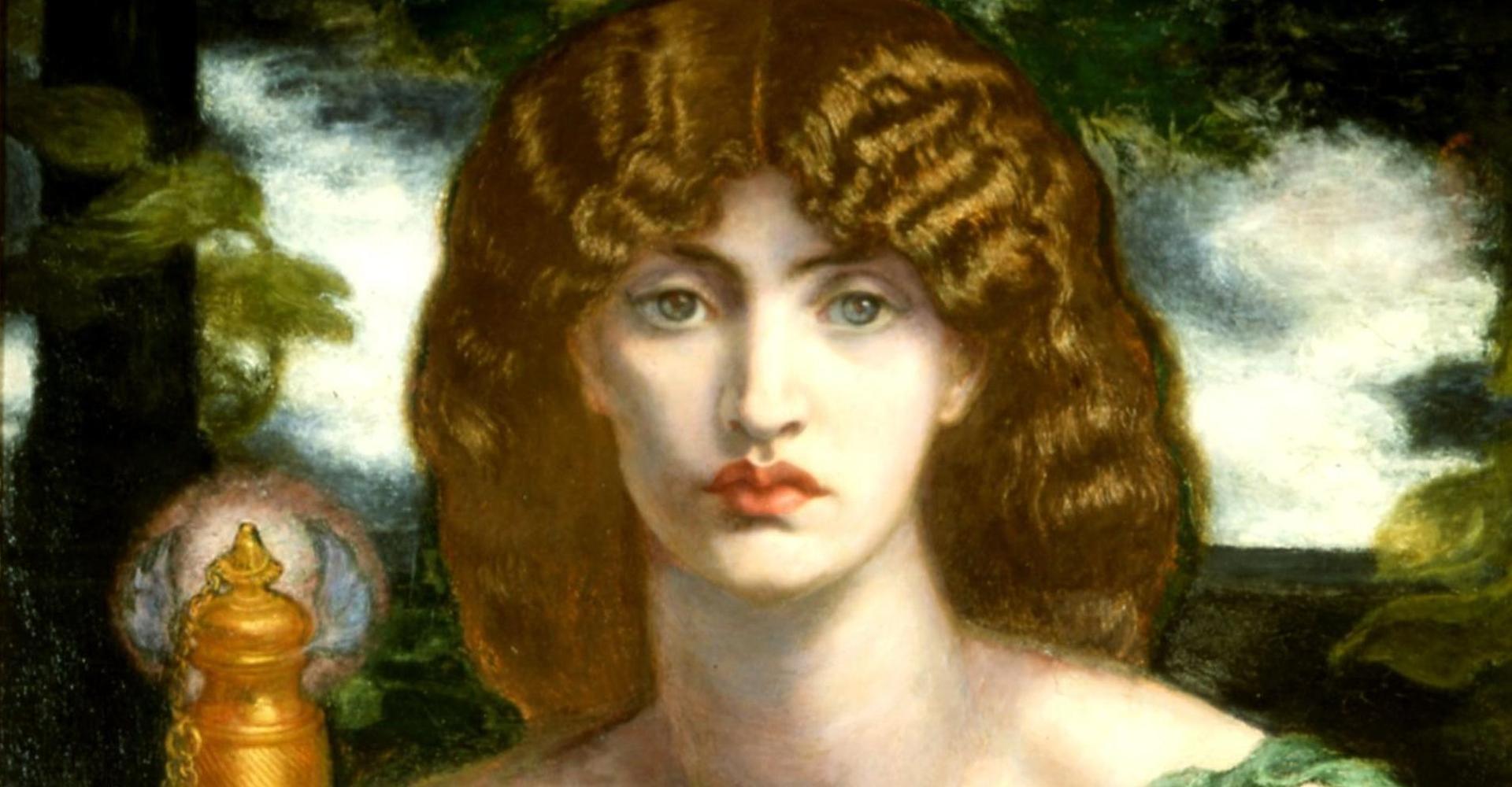 Dante Gabriel Rossetti: Mnemosyne – Delaware Art Museum, Wilmington