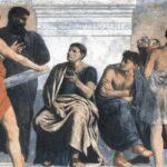 Gustav Adolph Spangenberg - Die Schule des Aristoteles